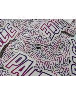 PACE Die Cut Sticker - Small