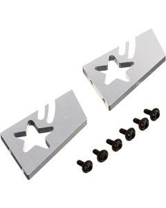 Speed Way Pal Aluminium Star Wing Stay Set - Silver