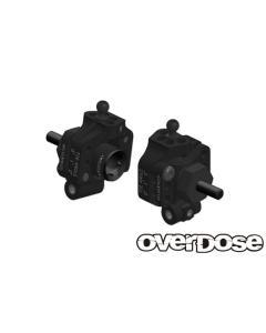 OD2279 - Overdose Adjustable Aluminium Rear Upright For OD/YD-2 - Black