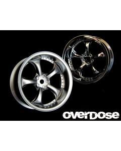 OD1183b - Overdose WORK VS KF 5mm - Matte Chrome