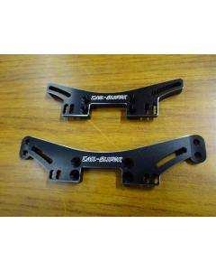 TS-231 - Tail-Slider 6mm Front and Rear Damper Towers for Vacula/Divall - Black