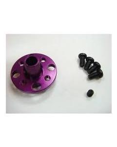 RC926 Aluminium Spur Gear Holder for Drift Package - Purple