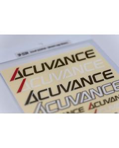 Acuvance Stretch Logo Sticker Sheet