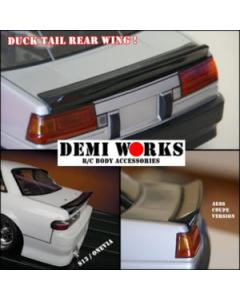 Demi Works Ducktail Spoiler For AE86/S13