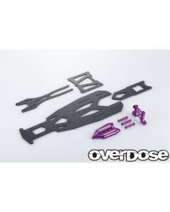 OD2831 - Overdose TRANSRANGE Chassis Set For GALM - Purple
