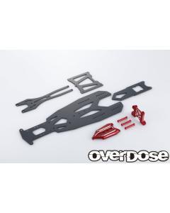 OD2832 - Overdose TRANSRANGE Chassis Set For GALM - Red