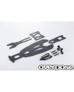 OD2833 - Overdose TRANSRANGE Chassis Set For GALM - Black