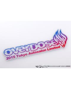 OD1990  - Overdose 2015 Tokyo Autosalon Limited Edition Sticker