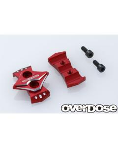 OD2737  - Overdose Type 2 Wire Clamp - Red