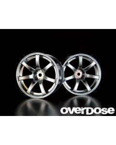 Overdose Work Emotion XT7 Wheels 5mm - Matte Chrome