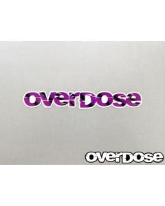 Overdose Logo Sticker - Purple