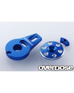 Overdose Aluminium Servo Saver Horn Type-2 - Blue