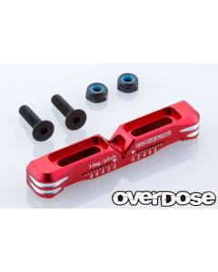 OD2481b - Overdose Adjustable Aluminium Suspension Mount Type 2 For OD - Red
