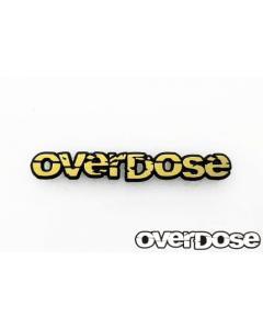OD2592 - Overdose 3D Letter Emblem - Gold