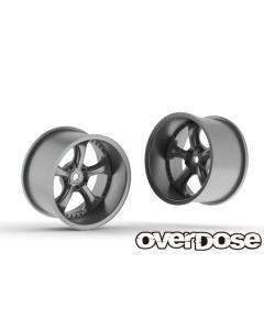 OD2780 - Overdose WORK VS KF 30mm +9 Offset - High Chrome